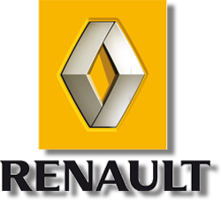 le logo RENAULT actuel / the current RENAULT logo